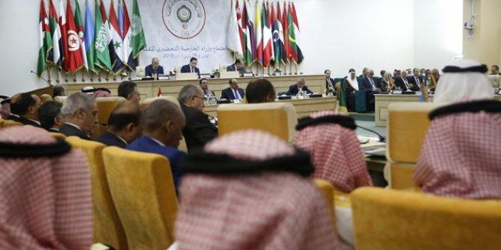Arap Birliği Türkiye'ye ambargo uygulayacak mı?