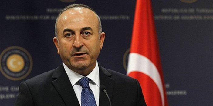 Mevlüt Çavuşoğlu'ndan operasyonla ilgili açıklama