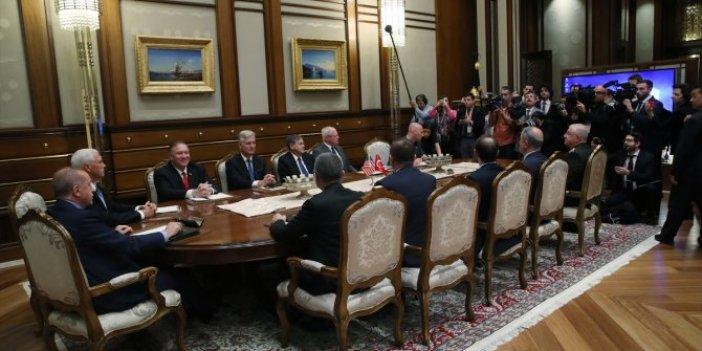 ABD-Türkiye görüşmelerine ABD'li gazeteciler alındı Türkler alınmadı
