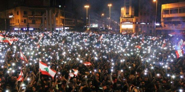 Lübnan'da göstericilerin sayısı 1 milyon 700 bine ulaştı
