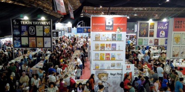 Antalya Kitap Fuar'ına yoğun ilgi!