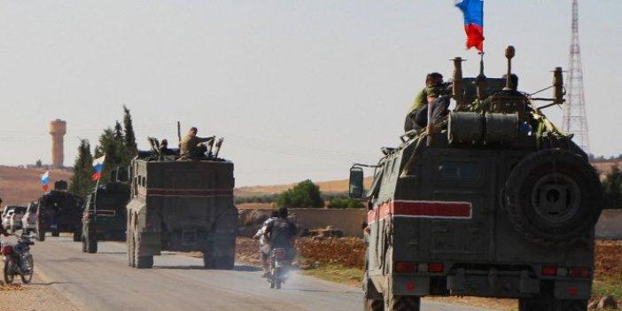 Rusya, Suriye sınırında devriyeye başladı