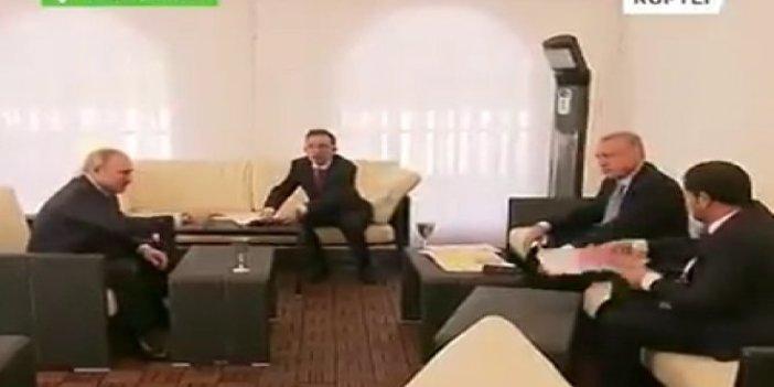 Tayyip Erdoğan, Putin'in isteğiyle haritayı kaldırdı