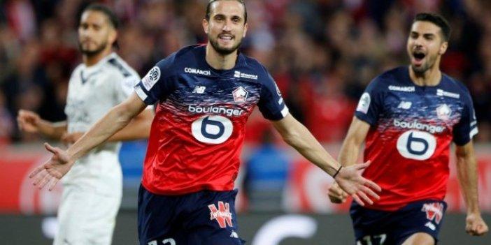 Yusuf Yazıcı yıldızlaştı, Lille kazandı