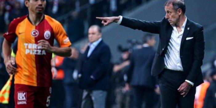 Abdullah Avcı ile Fatih Terim maç öncesi tokalaşmadı!