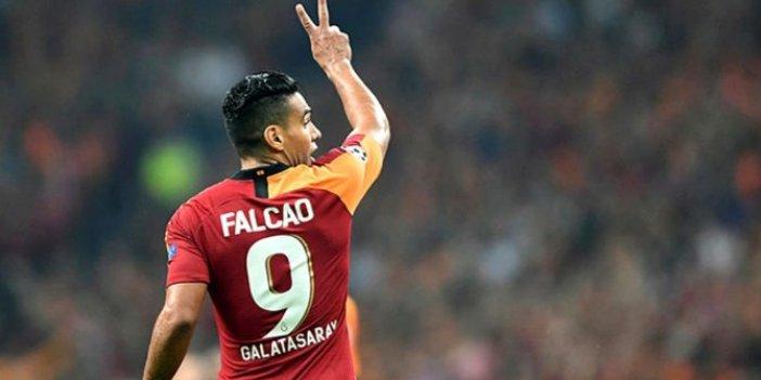 Galatasaray'dan Falcao ile ilgili açıklama