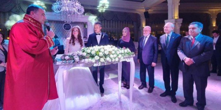 Kılıçdaroğlu ve Karamollaoğlu nikâh şahidi oldu