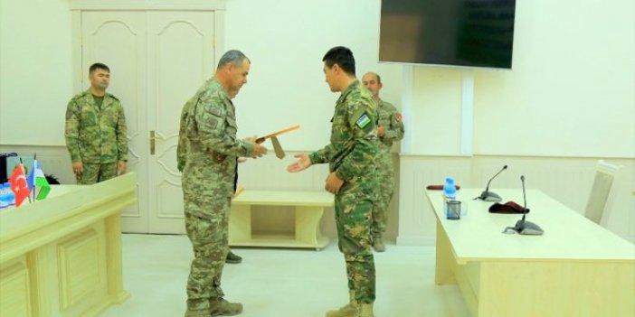 TSK'dan Özbek askerlere terörle mücadele eğitimi