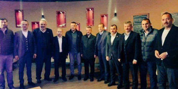 Ankara ve Zonguldak Başsavcıları, AKP'lilerle buluştu