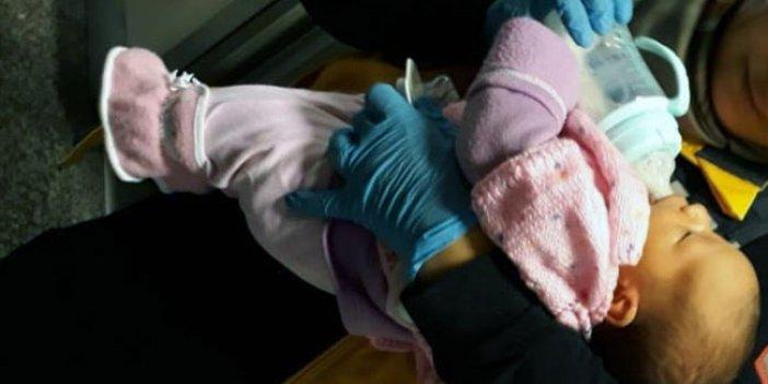 Cami tuvaletinde 15 günlük bebek bulundu