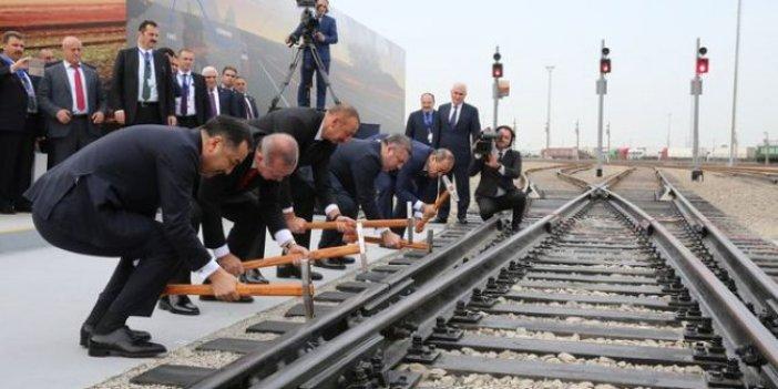 Bakü-Tiflis-Kars Demiryolu Meclis'e taşındı