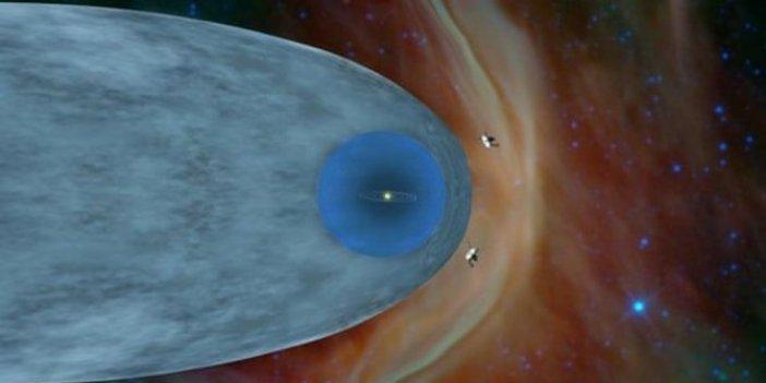 Voyager 2 'yıldızlararası uzay'dan ilk mesaj!