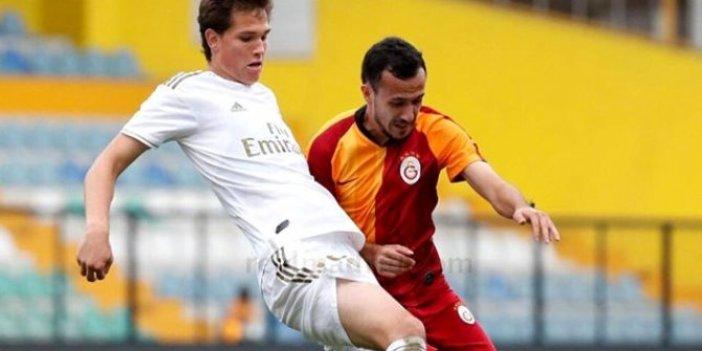 Galatasaray'ın gençleri Real Madrid'i 4-2 mağlup etti