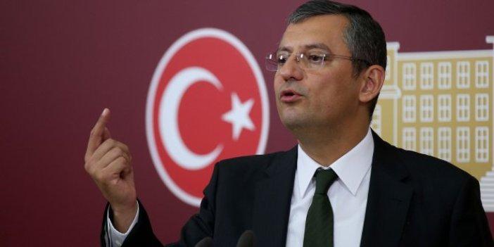 CHP'li Özgür Özel Fatih'teki intiharları TBMM'ye taşıdı