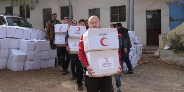 TMO, yüz binlerce ton gıdayı Suriyeliler için hibe edecek