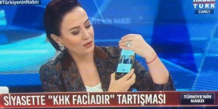Mustafa İlker Yücel canlı yayında Akşener'e iftira attı