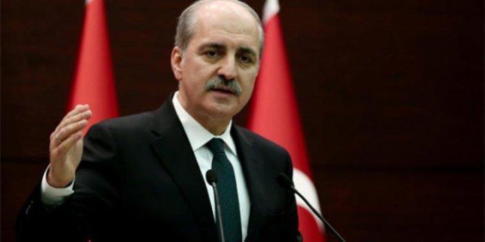 AKP'li Numan Kurtulmuş: 'Höt' dediklerinde...
