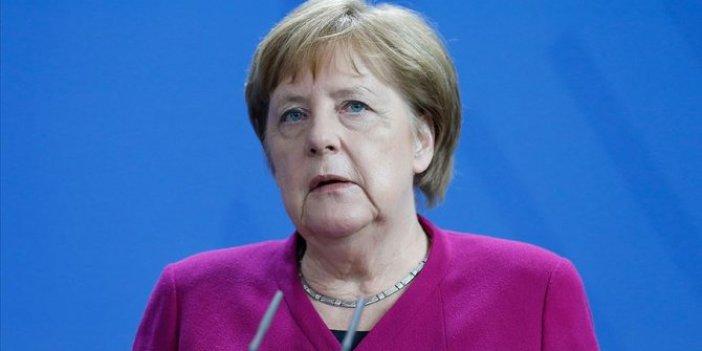 Angela Merkel'den Barış Pınarı Harekâtı açıklaması!