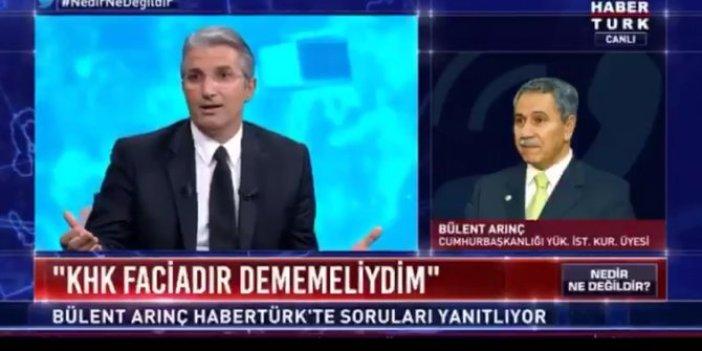 Nedim Şener'le Bülent Arınç arasında 'pompacı' tartışması