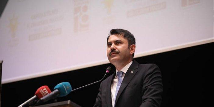 """Murat Kurum: """"Yurt dışından kredi bulup Yozgat'a vereceğiz"""""""