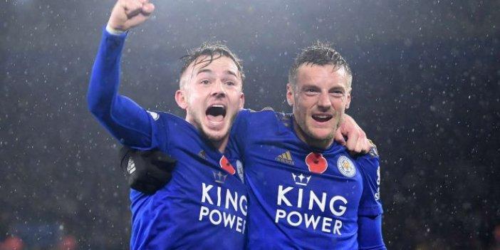 Leicester City, Arsenal'i de devirdi