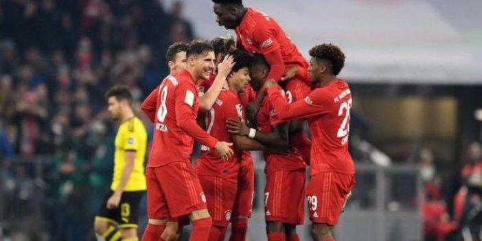 Dev maçta Bayern farkı!