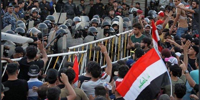 Irak'taki protestolarda şiddet dinmiyor: Ölü sayısı 301'e ulaştı