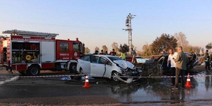 Samsun Cumhuriyet Savcısı'nın kızı trafik kazasında hayatını kaybetti