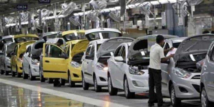 Otomotivde ihracatı bir ayda yüzde 8 düştü