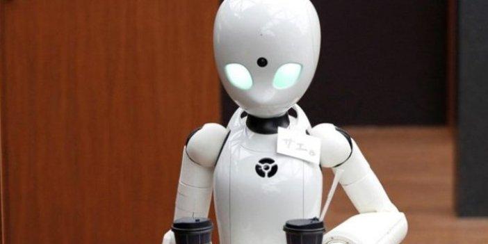 Robotlar artık hissedecek!