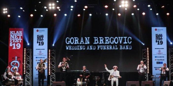 Goran Bregovic hayranlarıyla bir araya geldi