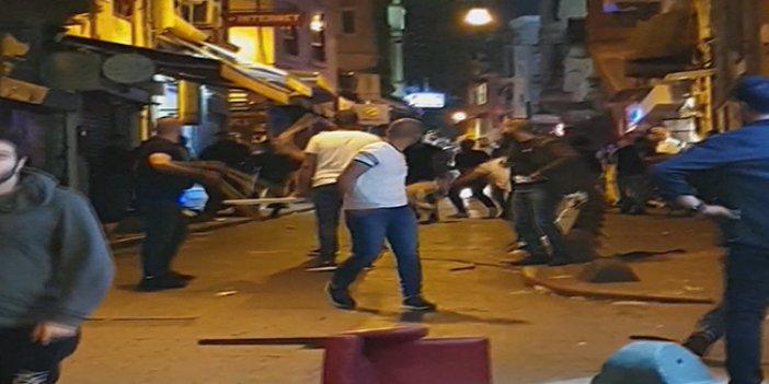 Suriyeliler Taksim'i birbirine kattı