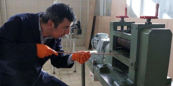 Bor madeninden süper iletken tel üretildi!