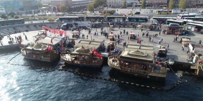 İBB'den Eminönü'ndeki balıkçılar için karar