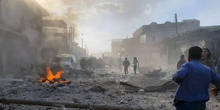 Suriye'nin Bab ilçesindeki saldırıda 18 sivil hayatını kaybetti