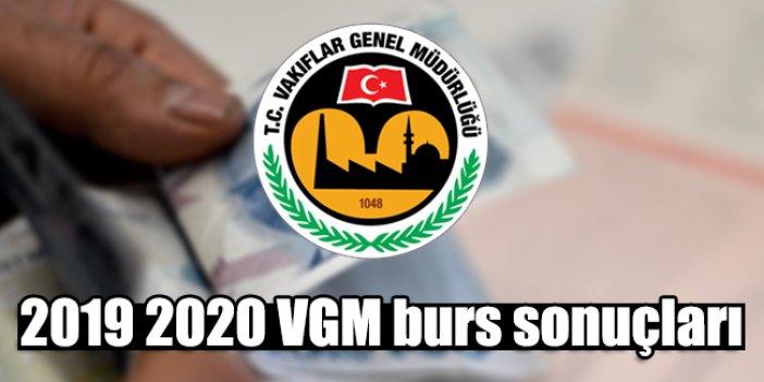 VGM burs sonuçları açıklandı mı? 2019 2020 VGM burs sorgulama ve sonuç ekranı