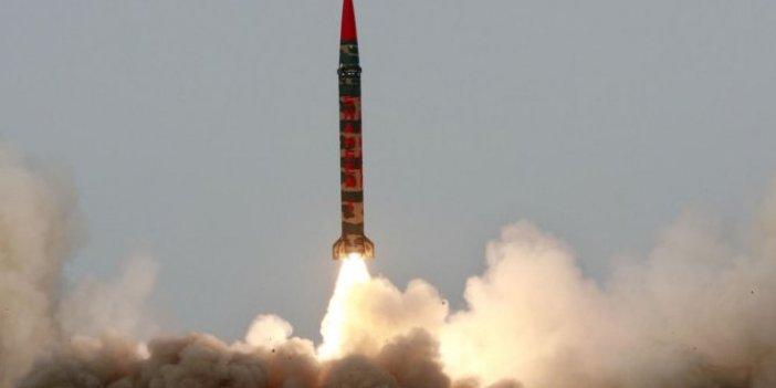 Hindistan'dan Pakistan da nükleer kapasiteli füzesini test etti