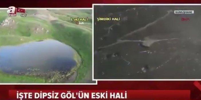 A Haber'den Dipsiz Göl skandalı