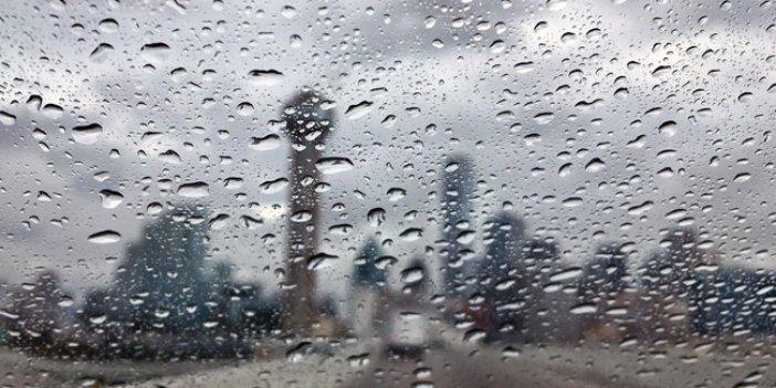 Meteoroloji sağanak yağış için tarih verdi