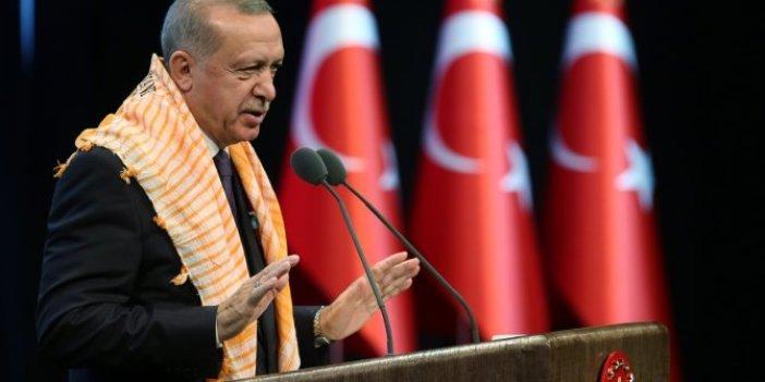 """Cumhurbaşkanı Erdoğan, """"İstiyoruz ki hayvan ithali yapmayalım"""""""