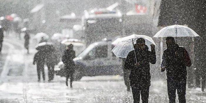 Kuvvetli sağanak yağış geliyor