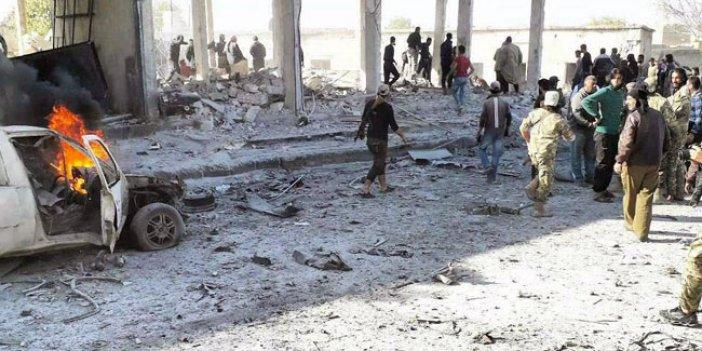 Tel Abyad'da bombalı araçla saldırı