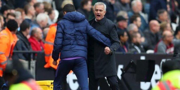 Jose Mourinho ilk maçında galibiyeti aldı
