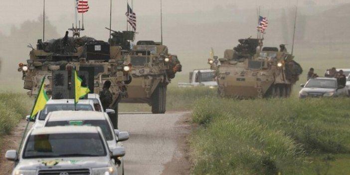 ABD'nin YPG'li teröristlerle iş birliği sürüyor!