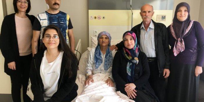 Rus turistin karaciğeri, iki Türk'e can oldu