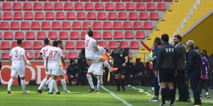 Kayserispor-Sivasspor: 1-4 (Maçın özeti)