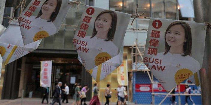 Hong Kong'da Çin yönetimine ağır darbe!
