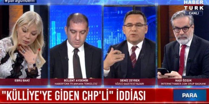 Deniz Zeyrek ile Bülent Aydemir canlı yayında tartıştı