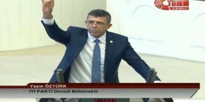 """İYİ Partili Yasin Öztürk: """"Bozkurt yapmaktan vazgeçmeyiz"""""""
