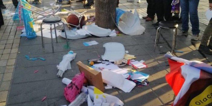 Kayseri'de İYİ Partili kadınlara saldırı
